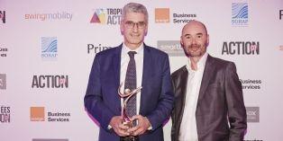[Trophées Action Co 2017] : Florent Huille (La Poste) reçoit le Trophée Bronze du manager commercial 2017