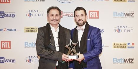 Jean-Yves et Alexis Péan, cuisinistes en Mayenne, sacrés Pros de l'année 2017