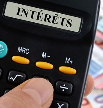 Comment calculer les taux d'intérêt professionnel ?